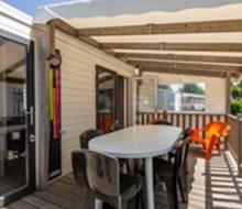 Les Alouette Campsite: mobile home